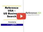 Reference USA - US businesses