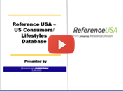 Reference USA - US consumers