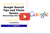 google search tips domain searching