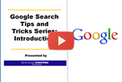 Google search tips intro