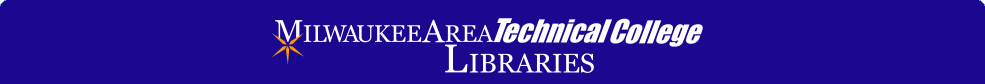 Milwaukee Area Techinical College Libraries Catalog Home Page