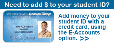 Add money to your Student ID